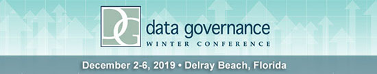 Data Governance in Delray Beach, FL on Dec. 2, 2019