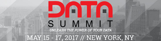 Data Summit in New York, NY on May 17, 2017